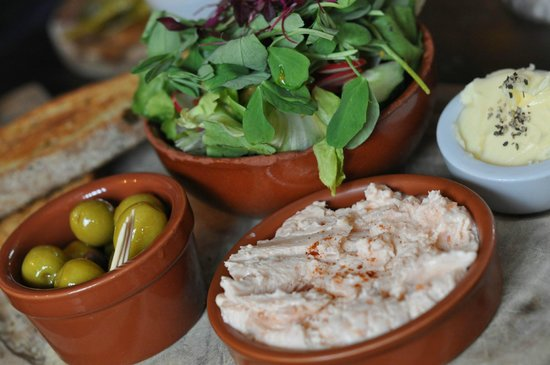 House of the Trembling Madness: Smoked Salmon Pate