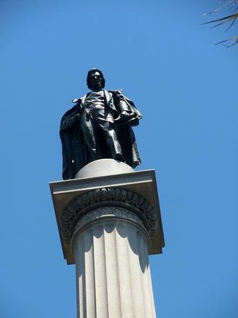 Marion Square : Statue of John C. Calhoun, one of South Carolina's most illustrious citizens