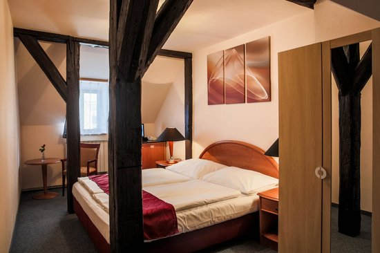 Pension U Lilie: Attic double room