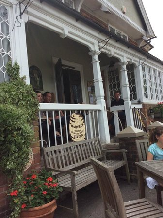 The Bull at Benenden Restaurant: The Bull Inn Entrance in Benenden