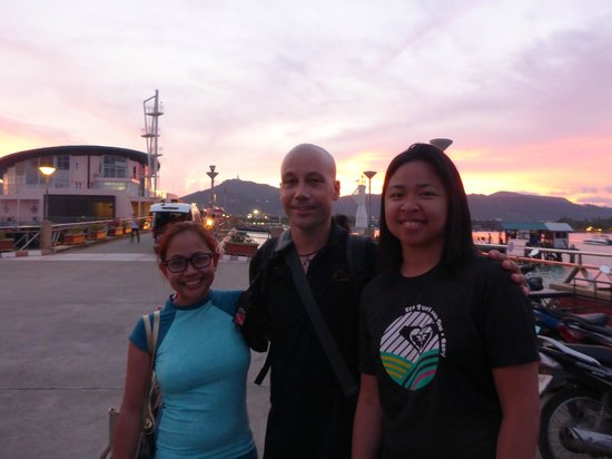 Andys Scuba Diving Phuket : With Matt, our diving instructor