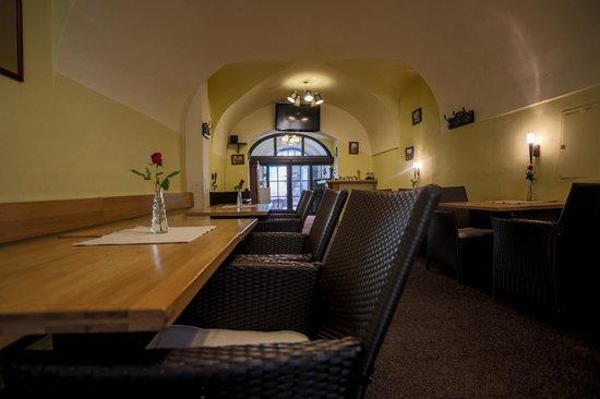 Pension U Lilie: Restaurant