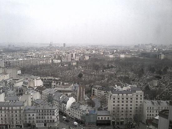 Pullman Paris Montparnasse : vue depuis ma chambre, magnifique malgre le temps un peu gris