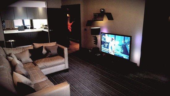 The Chester Residence: Luxury Room - Livingroom & Kitchen