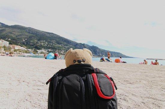 Palmes Beach : il mio orsacchiotto al mare (ha 32anni)