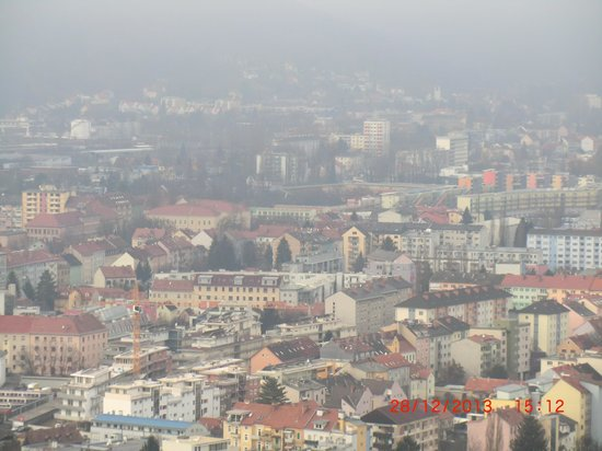 Uhrturm: view of the old city