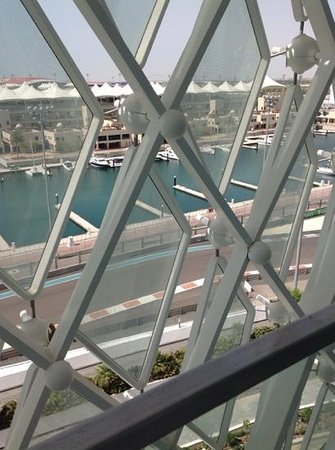 Yas Viceroy Abu Dhabi: view from our room