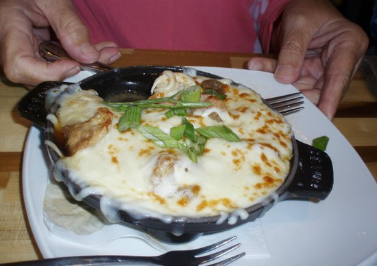 French onion soup dumplings - Picture of Salt Rock Tavern, Oldsmar ...