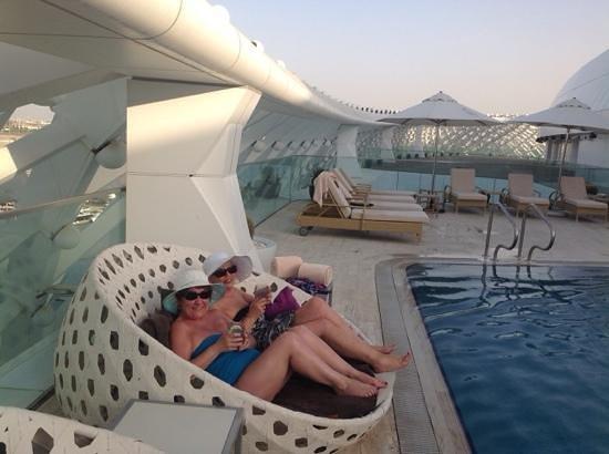 Yas Viceroy Abu Dhabi: quiet pool