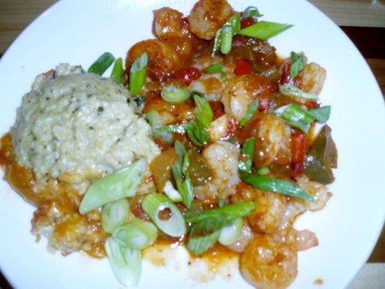 Salt Rock Tavern: Creole shrimp and grits