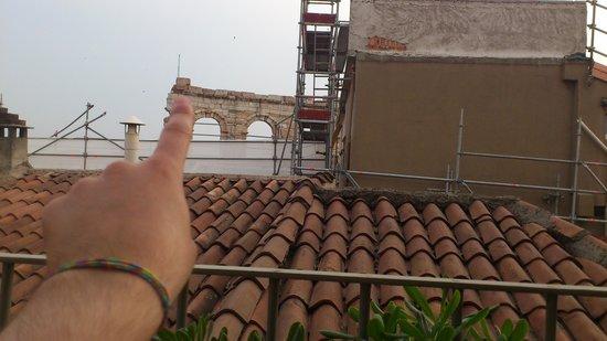 Giulietta e Romeo Hotel: si tocca l'Arena con un dito