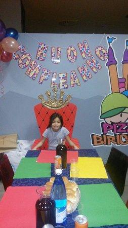 Pizza & Birichini : Compleanno