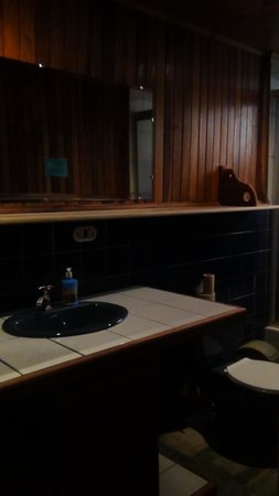 Spanish by the River - Turrialba : Private bathroom