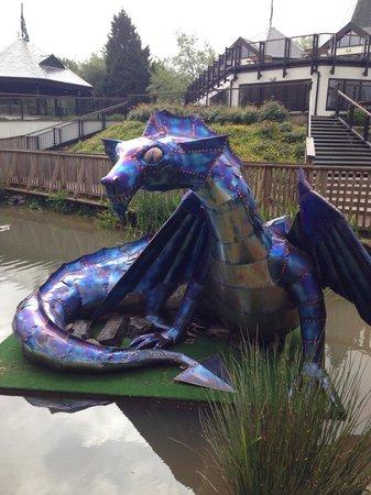 Trago Mills Family Shopping & Leisure Park: Dragon!