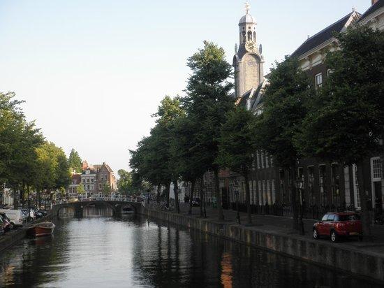 Rijn (Rhine): ライデン大学近くの運河