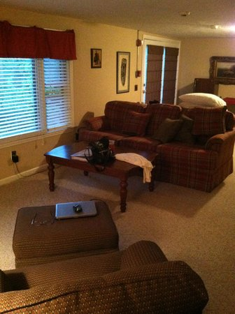 Wendover Bed & Breakfast : View inside living area