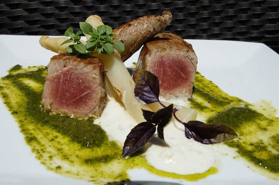 Restaurante La Mina: ventresca de atún rojo salvaje de almadraba