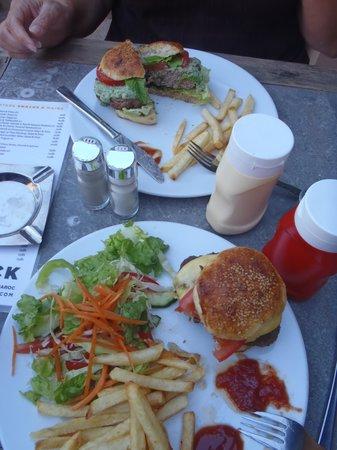 Cafe Clock : Camel and lamb burgers
