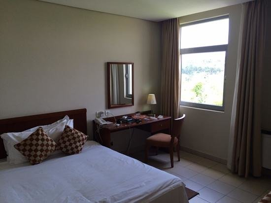 Tinapa Lakeside Hotel: The executive room!