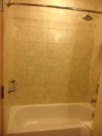 BEST WESTERN PREMIER Miami International Airport Hotel & Suites: NICELY TILED SHOWER