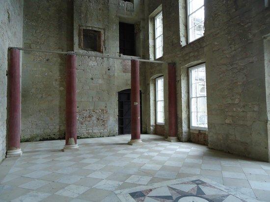 Inside Appuldurcombe House