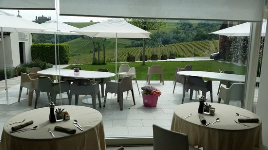 Palas Cerequio : View from Dining Room