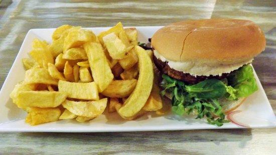 Top Gun Fish & Chip Co: Veggie Burger