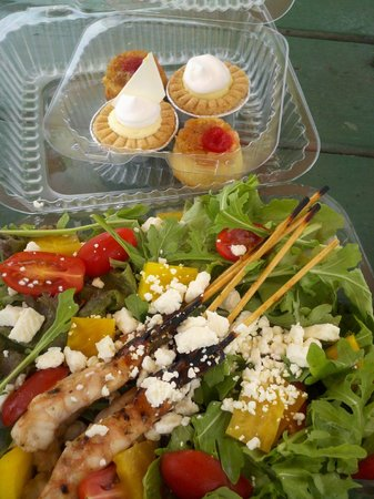 Mark's Place: Salad and Desert