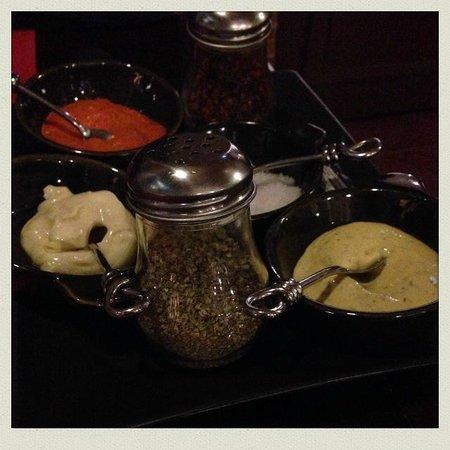 Terralia Grill : Sauces pour accompagner les plats