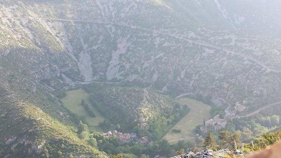 Cirque de Navacelles, vue d'en haut