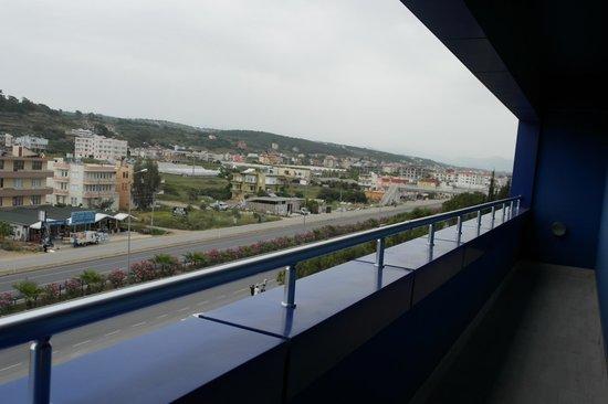 Orange County Resort Hotel Alanya: Балкон часть 2
