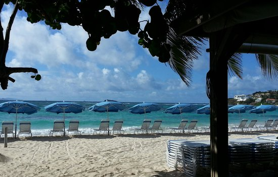 Mr. Busby's Beach Bar: From our table at Mr Busbys