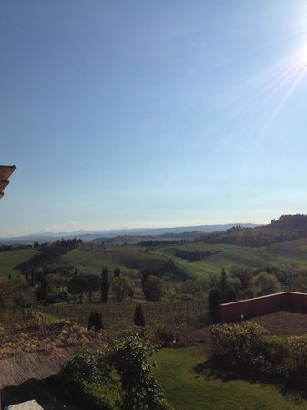 Guardastelle: View from our room