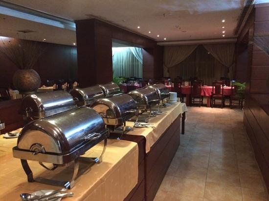 Transcorp Hotels: The buffet at night!