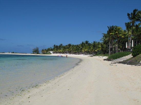 The Residence Mauritius : The beach ...