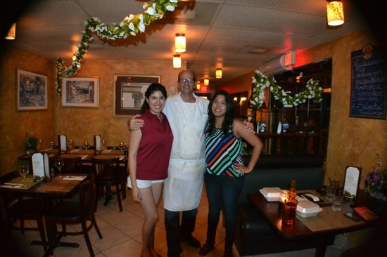 Salt N Pepper Bistro : With the Chef :)