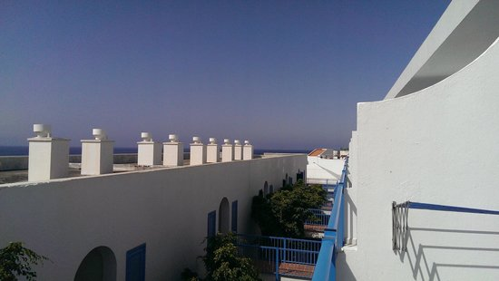 Costa Volcan Apartments: View from Balcony