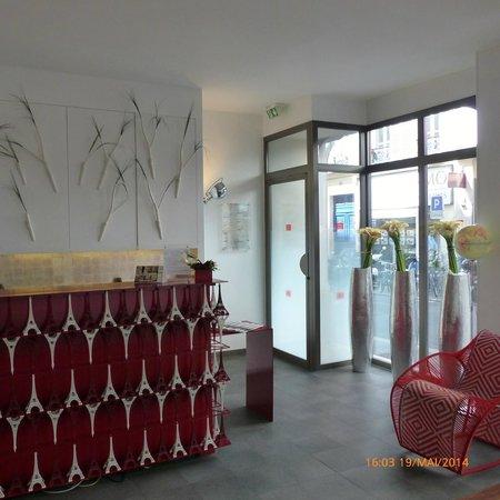 Hotel Joyce - Astotel: Reception area