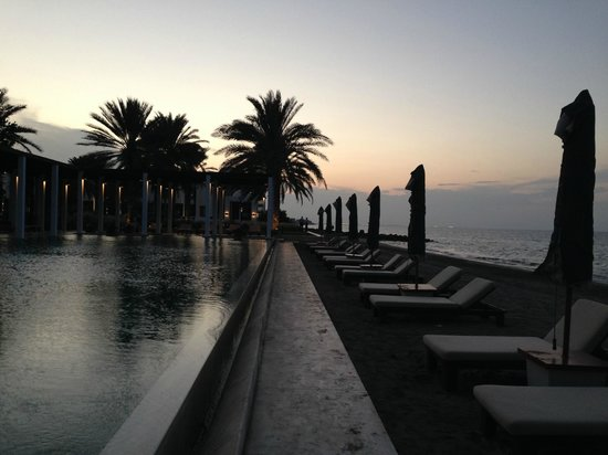 The Chedi Muscat – a GHM hotel: Another pool