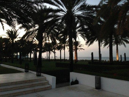 The Chedi Muscat – a GHM hotel: Beach view