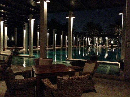 The Chedi Muscat – a GHM hotel: the pool