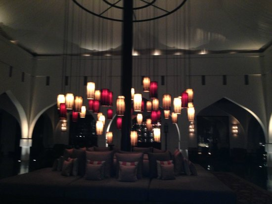 The Chedi Muscat – a GHM hotel: The lobby
