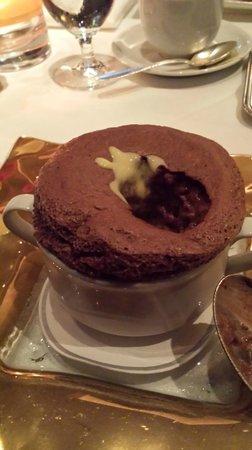 Restaurant Gary Danko : Chocolate souffle