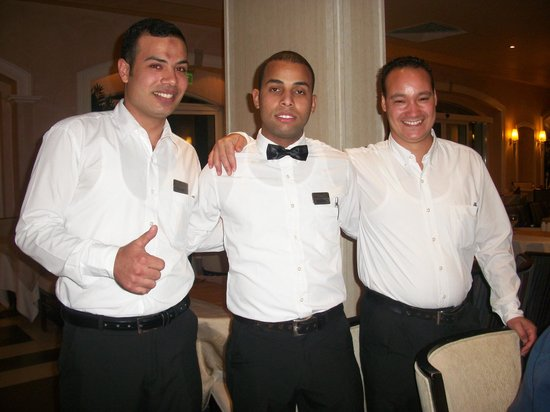 Sensimar Premier Le Reve: Emad, Mostafa and Saied - Gala night with our three favoured boys