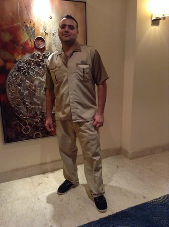 Premier Le Reve Hotel & Spa (Adults Only) : The best housekeeper - our good friend Mohamed