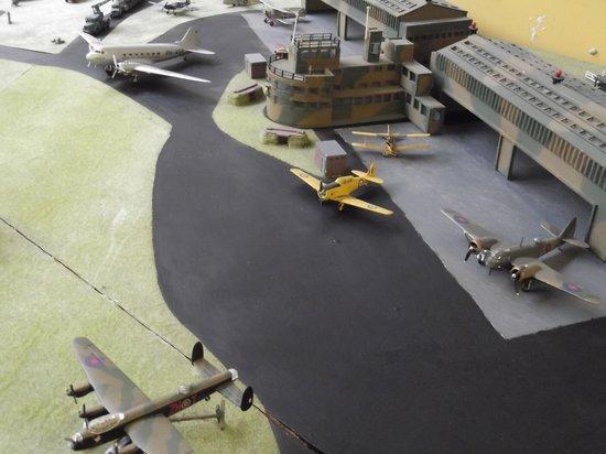 Grangemouth Heritage Trust: Model of Grangemouth Airfield