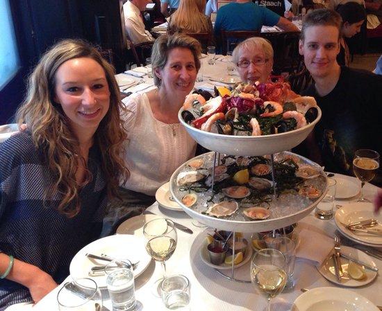 Balthazar : Seafood platter