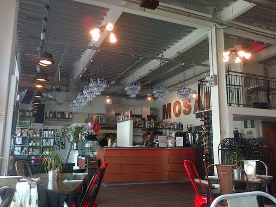 Mosaic: Inside the restaurant