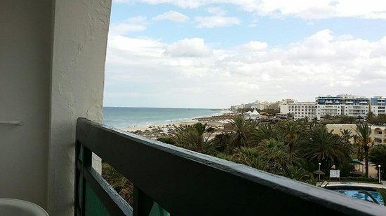 Marhaba Beach Hotel: Zimmer mit Meerblick