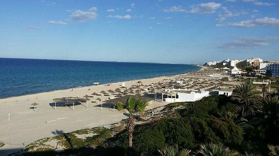 Marhaba Beach Hotel: Hotel Strand